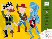 Cowboy & Co Puppets by Djeco
