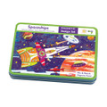 Spaceships Magnetic Design Set Mudpuppy Tin
