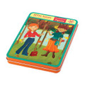 All Four Seasons Magnetic Figures by Mudpuppy Tin