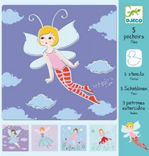 Fairies Stencils by Djeco