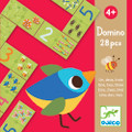 One Two Three Dominoes by Djeco Box