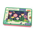 Fancy Flower Magnetic Design Set by Mudpuppy Tin