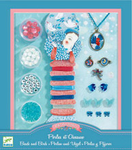 Pearls and Birds Jewellery Making Kit by Djeco