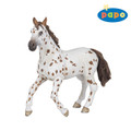 Brown Appaloosa Mare Horse Figure by Papo