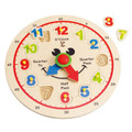 Wooden Happy Hour Clock puzzle by Hape