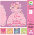 Princess Stencils by Djeco