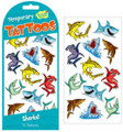 Sharks! tattoos by Peaceable Kingdom