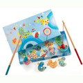 Magnetic Coloured Fishing Duck Game by Djeco