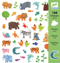 Animals Stickers by Djeco