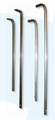 """Toilet Tissue Rods   Two-Roll Rod 3/8"""""""