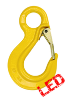 G80 Eye Type Sling Hook with Safety Latch