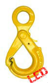 13mm G80 Eye Type Safety Hook with Grip Latch