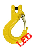 10mm G80 Clevis Type Sling Hook with Safety Latch