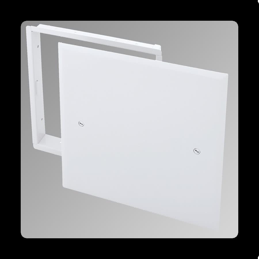 Removable Door with Hidden Flange