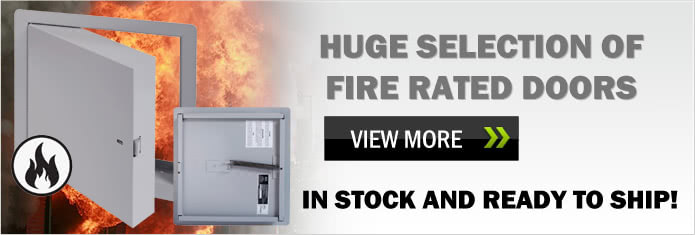 Huge Selection of Fire Rated Doors - In Stock & Ready To Ship!
