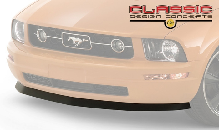 05-09 Mustang V6 Chin Spoiler & Mechanics Catch All Combo