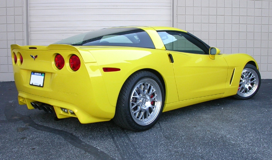 C6 Corvette Lower Rear Valance (2005-13)