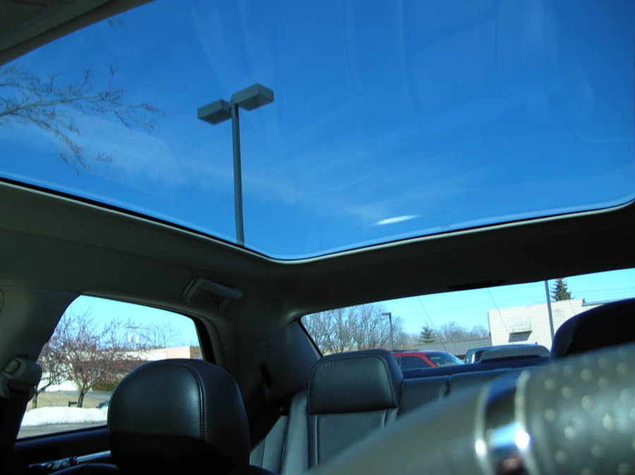 Solar reflective glass keeps you cool and protected from UV rays & solar heat.