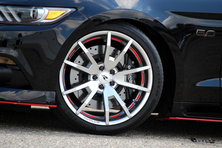 2015-17 Mustang Outlaw Wheel Set
