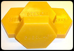 Beeswax in 1 lb Blocks.  Choose options for bulk pricing.
