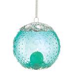 Aquamarine Globe Candle Lantern