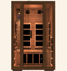Gold 2 Person Far Infrared Sauna