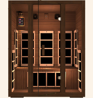 Gold 3 Person Far Infrared Sauna
