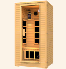Copper 1-2 Person Far Infrared Sauna