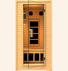 Copper 1-2 Person Far Infrared Sauna