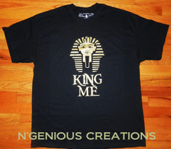 N'GENIOUS CREATIONS EXCLUSIVE KING ME T-SHIRT