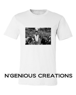 BLACK ICON SERIES: MUHAMMAD ALI TSHIRT