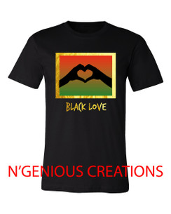 BLACK LOVE MEN'S TSHIRT