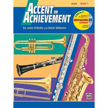 Accent on Achievement Method Book 1 for Flute