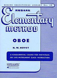 Rubank Elementary Method Book 1 for Oboe