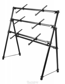 On-Stage A-Frame Keyboard Stand (3-tier)