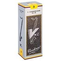 Vandoren V-12 Bass Clarinet Reeds (5-pack)