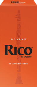 Rico by D'Addario Bb Clarinet Reeds (25-Pack)