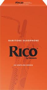 Rico by D'Addario Baritone Saxophone Reeds (25-Pack)