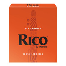 Rico by D'Addario Bb Clarinet Reeds (10-Pack)