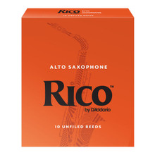 Rico by D'Addario Alto Saxophone Reeds (10-Pack)
