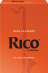 Rico by D'Addario Bass Clarinet Reeds (10-Pack)