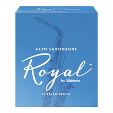 Rico Royal Alto Saxophone Reeds (10-Pack)