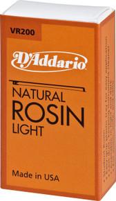 D'Addario VR200 Natural Rosin Light