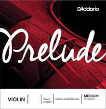 D'Addario Prelude Violin String Set - Medium