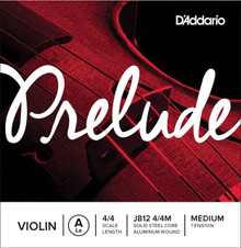 D'Addario Prelude Violin Single A String - 4/4 Medium