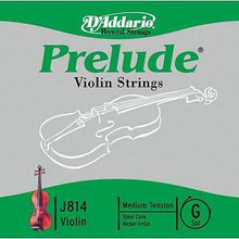D'Addario Prelude (Steel Core) Violin - G Nickel Wound