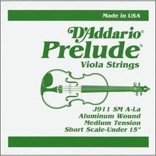 D'Addario Prelude (Steel Core) Viola - A