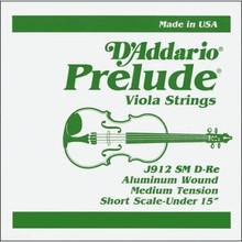 D'Addario Prelude (Steel Core) Viola - D