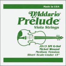 D'Addario Prelude (Steel Core) Viola - G