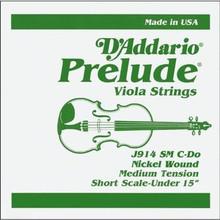 D'Addario Prelude (Steel Core) Viola - C